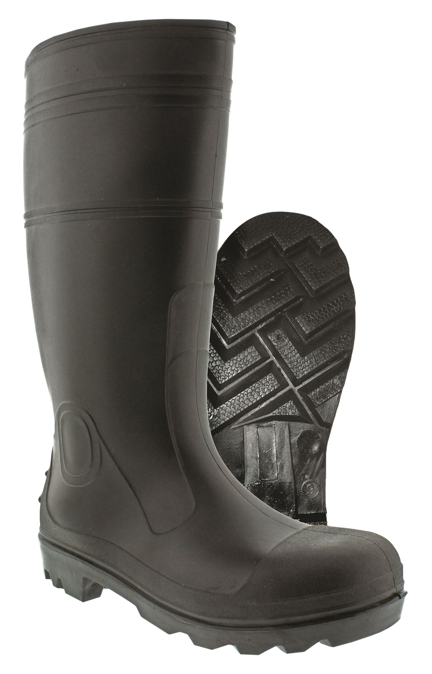 025593082455_Itasca_Blk PVC Boot- Plain - Size 10_Styled.jpg