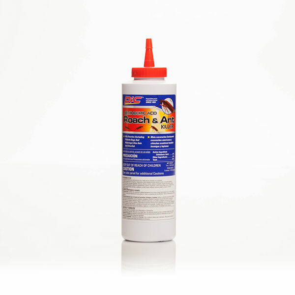 PIC Orthoboric Acid Roach & Ant Killer Dependable Insect Control Since 1953
