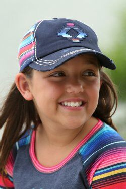 Girls Baseball Cap - Serape